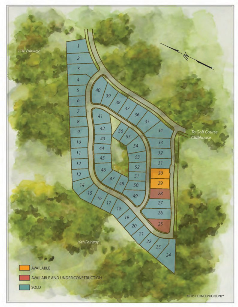 Tripleknot Townhomes Property Map April 20 2017